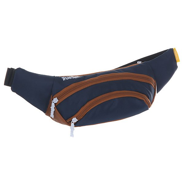 ����� ������� TrueSpin Wisst Bag F.bottom Navy/Brown