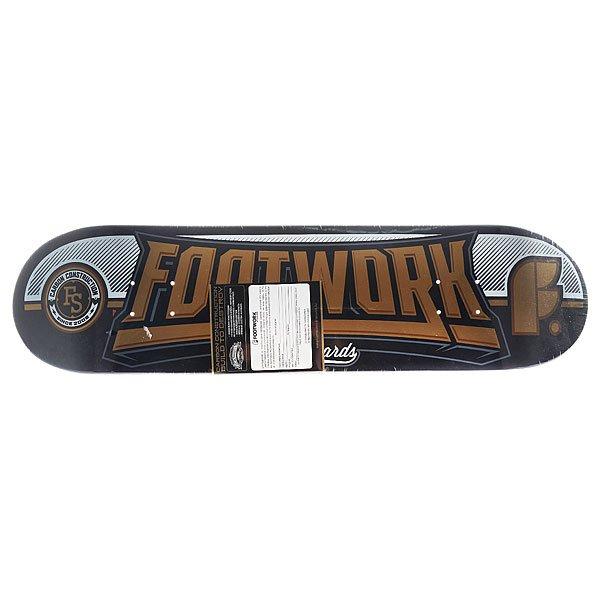 Дека для скейтборда для скейтборда Footwork Carbon Monument Gold 31.6 x 8 (20.3 см)