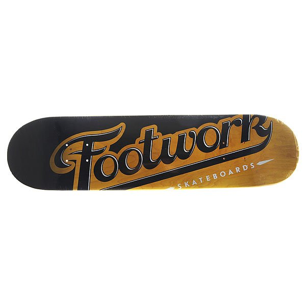 Дека для скейтборда для скейтборда Footwork Original Lucky Yellow 31.3 x 7.87 (19.9 см)