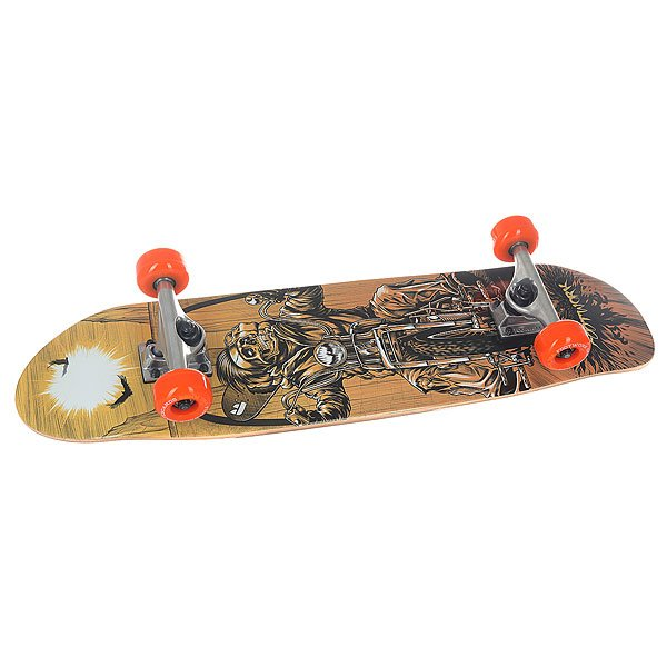 Скейт мини круизер Footwork Complete City Cruiser Skull 7.87 x 30.8 (78.2 см)