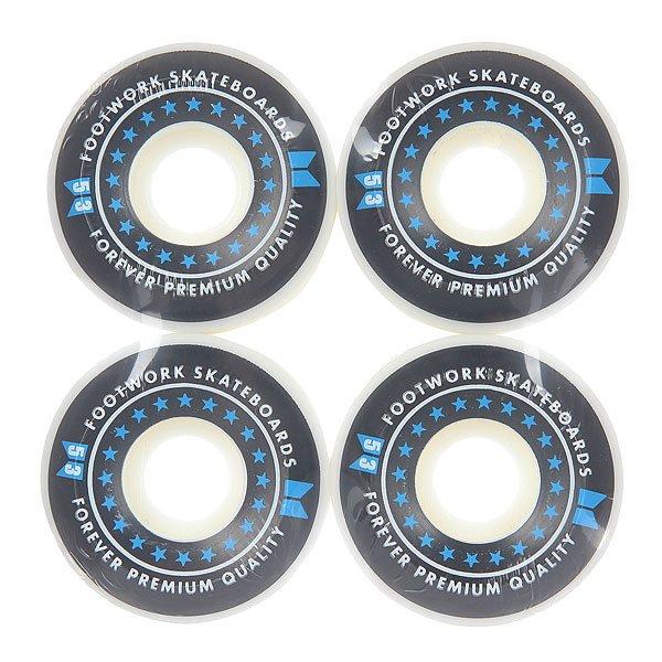 Колеса для скейтборда для скейтборда Footwork Icon Black 100A 53 mm