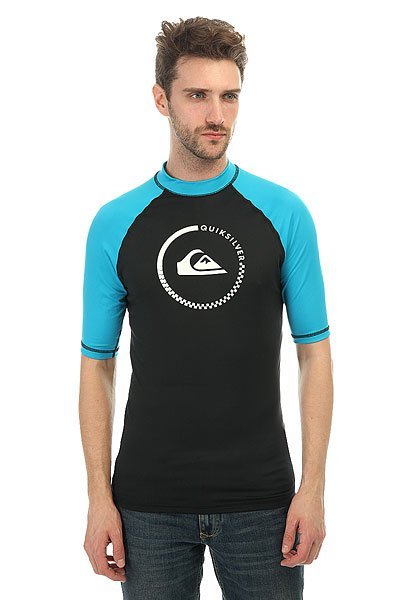 Гидрофутболка Quiksilver Lock Up Shorts Black/Hawaiian Ocean