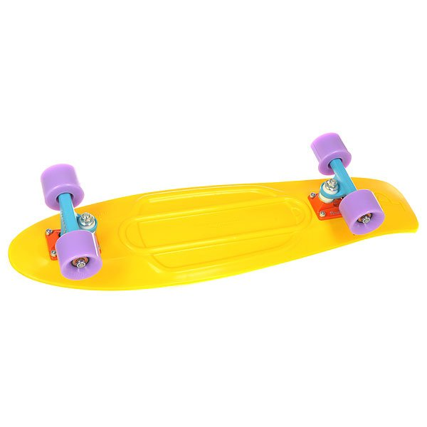 Скейт мини круизер Penny Nickel 27 Yellow 7.75 x 27 (68.6 см) скейт мини круизер penny original 22 ltd shadow jungle 6 x 22 55 9 см