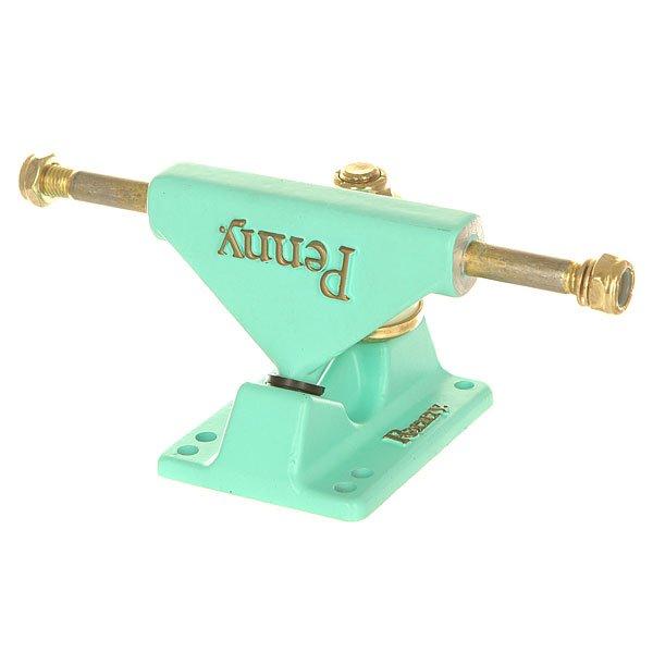 Подвески для скейтборда для лонгборда 2шт. Penny Trucks Pastel Mint 3.125 (14.9 см)Ширина подвесок: 3.125 (14.9 см)    Высота подвесок: 60 мм    Цена указана за 2 шт<br><br>Цвет: голубой<br>Тип: Подвески для лонгборда