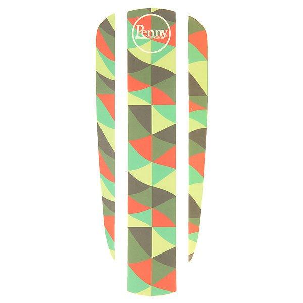 Наклейки Penny Sticker Panel 22 BeachcomberДобавьте немного шика в Ваш скейтборд с наклейками от Penny. Идеально подходят для скейтборда Penny 22. Наклейки просты в применении, и к тому же Вы можете легко сочетать их с другими наклейками, создавая свой собственный принт.Технические характеристики: Наклейка состоит из 3 частей, что позволяет комбинировать ее с другими наклейками.Яркий дизайн с принтом волна.Логотип Penny.<br><br>Цвет: мультиколор<br>Тип: Наклейки
