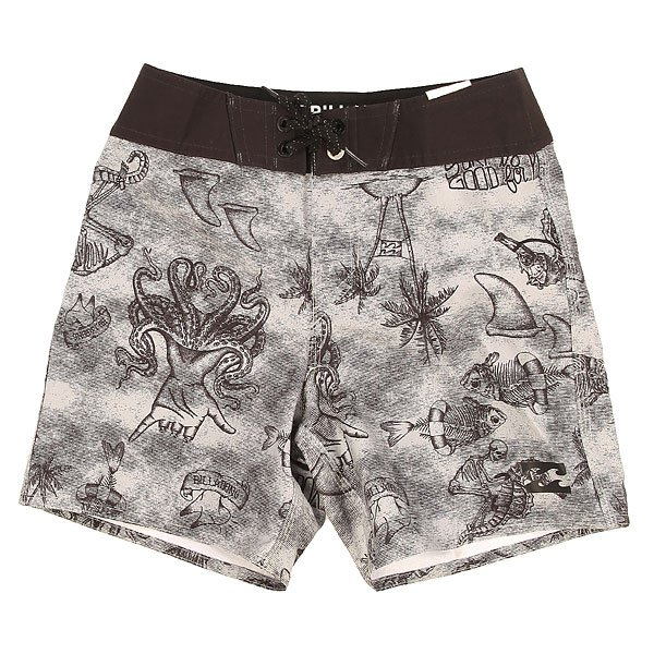 "Шорты пляжные детские Billabong Trunk X Boy 15"" Neutral Grey"