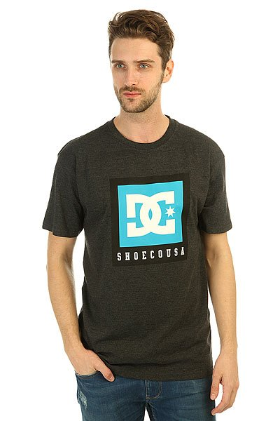 Футболка DC Boxed Out Dark Heather Grey