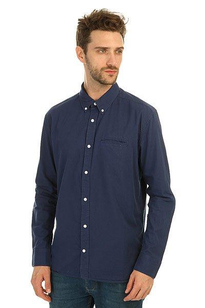 Рубашка DC Oxford Ls Vintage Indigo