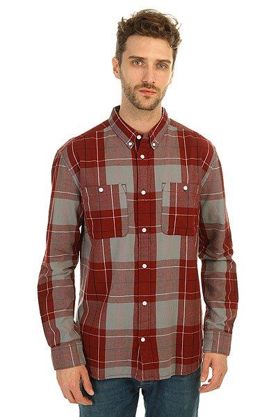 Рубашка в клетку DC South Ferry 2 South Syrah рубашка в клетку dc atura 3 atura black