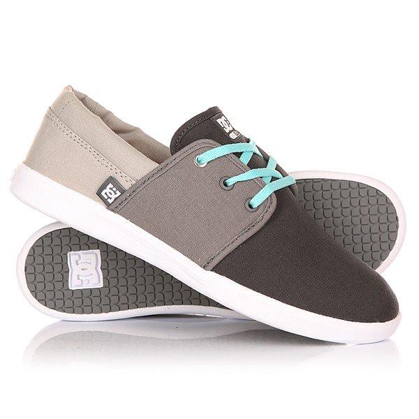 Кеды кроссовки низкие женские DC Haven Grey