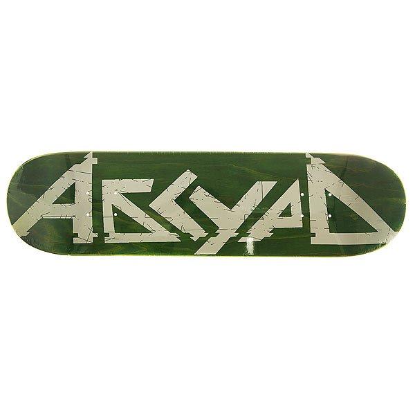Дека для скейтборда для скейтборда Absurd Logo 1 Green 31.75 x 8 (20.3 см)