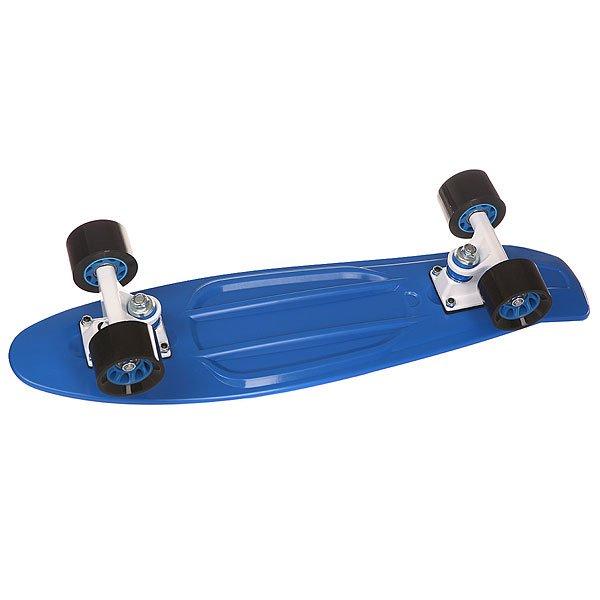 Скейт мини круизер Taste Orboard Blue 6 x 22.5 (57.2 см)Скейтборд Taste Orboard - уникальное средство передвижения по городу и отличный способ заявить о себе в скейтпарке. Характеристики: Дека:пластик.  Подвеска:алюминий, 6 дюймов. Колеса:59 мм х 45 мм, жесткость 85 А. Подшипники:ABEC-5. Максимальная нагрузка – 80 кг.<br><br>Цвет: синий<br>Тип: Скейт мини круизер