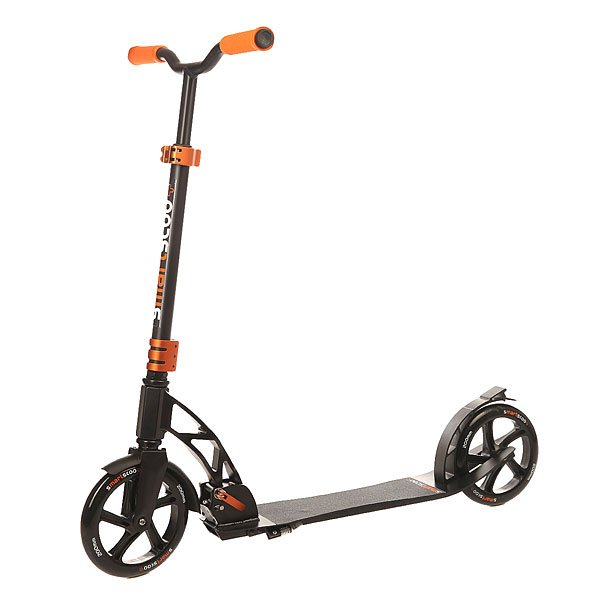 Самокат складной Fun4U Smartscoo+ 200mm Black/Orange самокат складной fun4u smartscoo 200mm black orange