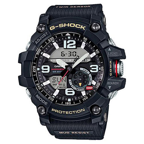 Электронные часы Casio G-Shock Premium Gg-1000-1a NavyМногофункциональные и  ударопрочные наручные часы из полимерного пластика выполнены в спортивном стиле, а также обладают расширенным набором функций.Технические характеристики: Сверхмощная автоматическая подсветка LED.Ударопрочная конструкция защищает от ударов и вибрации.Грязеустойчивость - особая конструкция, устойчивая к пыли и загрязнениям, предохраняет попадание грязи в часы.Неоновый дисплей.Цифровой компас.Термометр (-10°C / +60°C).Функция мирового времени.Функция секундомера- 1/100 сек. - 24 часа.Таймер - 1/1 мин. - 1 час.5 ежедневных будильников.Функция повтора будильника.Включение/выключение звука кнопок.Автоматический календарь.12/24-часовое отображение времени.Минеральное стекло - прочное, устойчивое к царапинам минеральное стекло защищает часы от повреждений.Корпус из полимерного пластика.Ремешок из полимерного материала.Время работы аккумулятора - 2 года.Водонепроницаемость (20 Бар) до 200м.Точность +/- 15 секунд в месяц.<br><br>Цвет: синий<br>Тип: Электронные часы<br>Возраст: Взрослый<br>Пол: Мужской