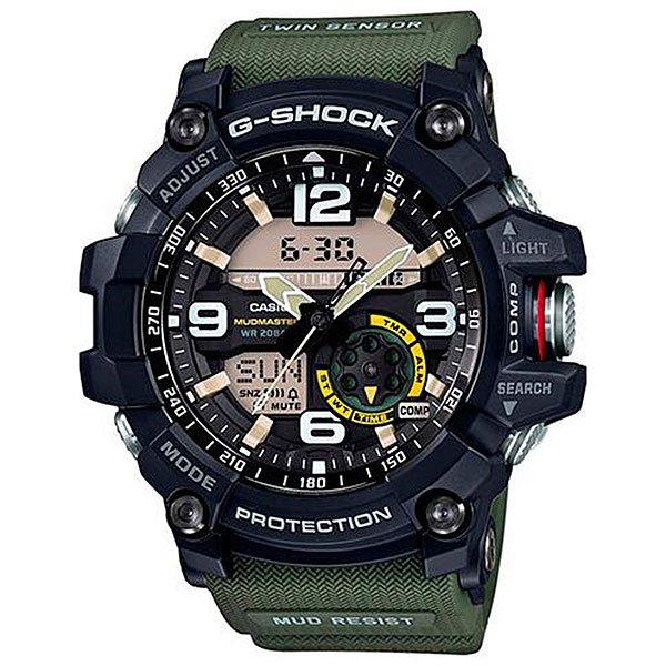 Электронные часы Casio G-Shock Premium Gg-1000-1a3 Navy/GreenМногофункциональные и  ударопрочные наручные часы из полимерного пластика выполнены в спортивном стиле, а также обладают расширенным набором функций.Технические характеристики: Сверхмощная автоматическая подсветка LED.Ударопрочная конструкция защищает от ударов и вибрации.Грязеустойчивость - особая конструкция, устойчивая к пыли и загрязнениям, предохраняет попадание грязи в часы.Неоновый дисплей.Цифровой компас.Термометр (-10°C / +60°C).Функция мирового времени.Функция секундомера- 1/100 сек. - 24 часа.Таймер - 1/1 мин. - 1 час.5 ежедневных будильников.Функция повтора будильника.Включение/выключение звука кнопок.Автоматический календарь.12/24-часовое отображение времени.Минеральное стекло - прочное, устойчивое к царапинам минеральное стекло защищает часы от повреждений.Корпус из полимерного пластика.Ремешок из полимерного материала.Время работы аккумулятора - 2 года.Водонепроницаемость (20 Бар) до 200м.Точность +/- 15 секунд в месяц.<br><br>Цвет: синий,зеленый<br>Тип: Электронные часы<br>Возраст: Взрослый<br>Пол: Мужской