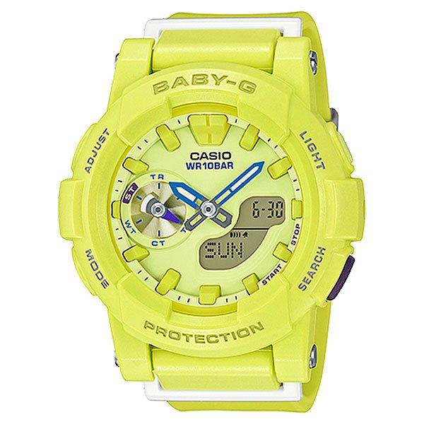 Электронные часы Casio Baby-g Bga-185-9a YellowУдаропрочные и функциональные наручные часы в стильном спортивном дизайне выполнены из полимерного пластика.Технические характеристики: Светодиодная подсветка.Ударопрочная конструкция защищает от ударов и вибрации.Функция мирового времени.Функция секундомера- 1/100 сек. - 1 час.Таймер - 1/1 мин. - 24 часа.5 ежедневных будильников.Включение/выключение звука кнопок.Функция перемещения стрелок.Автоматический календарь.12/24-часовое отображение времени.Минеральное стекло - прочное, устойчивое к царапинам минеральное стекло защищает часы от повреждений.Корпус из полимерного пластика.Ремешок из полимерного материала.Время работы аккумулятора - 2 года.Водонепроницаемость (10 Бар) до 100м.Точность +/- 30 секунд  в месяц.<br><br>Цвет: желтый<br>Тип: Электронные часы<br>Возраст: Взрослый<br>Пол: Мужской