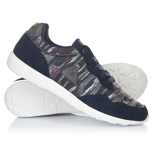 Кроссовки Le Coq Sportif Dynacomf Cft Cloud Jacquard Dress Blue цены онлайн