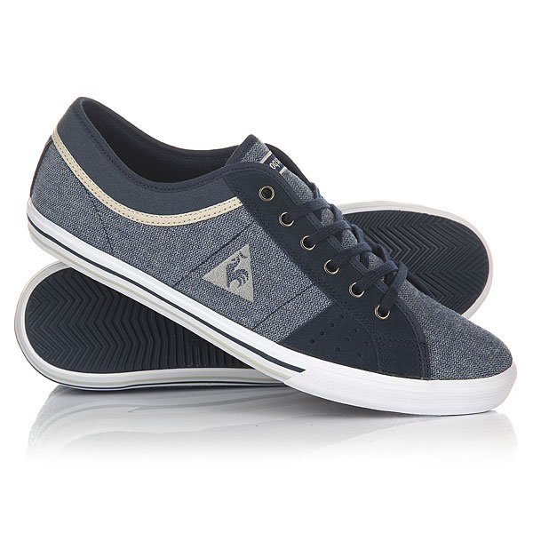 еды низкие Le Coq Sportif Saint Ferdinand 2 Tones/Suede Dress Blue
