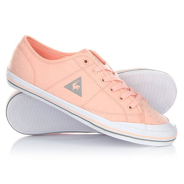 Кеды кроссовки низкие женские Le Coq Sportif Grandville Dots Tropical Peach 2 x universal auto decorative side scoop vent fender decor car air flow sticker with solar led warning light freeshipping ggg