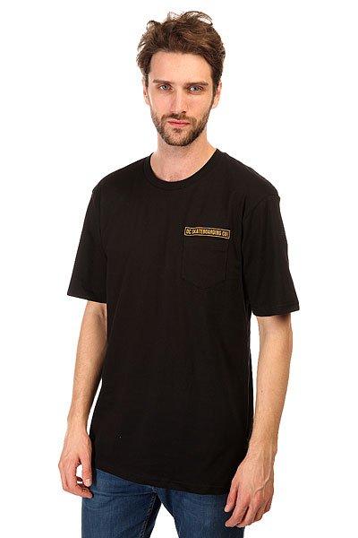 Футболка DC The Company BlackМодные футболки с декоративным принтом и коротким рукавом на любой вкус никогда не выйдут из моды.Характеристики:Декоративный принт на спине.Короткий рукав.Эластичная отделка горловины. Карман на груди.<br><br>Цвет: черный<br>Тип: Футболка<br>Возраст: Взрослый<br>Пол: Мужской