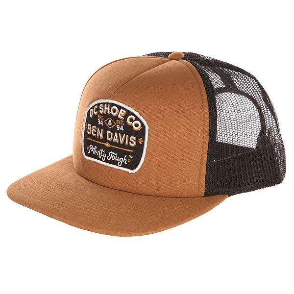 Бейсболка с сеткой DC Bd Tough Truckr Wheat