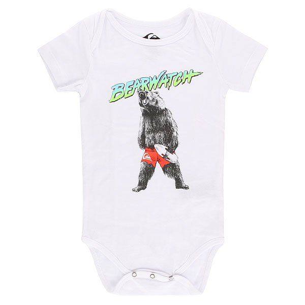 Боди детский Quiksilver Bear Watch Body Tees White