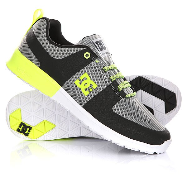 Кроссовки DC Lynx Lite R Grey/Yellow кроссовки salomon кроссовки shoes xa lite bk quiet shad imperial b