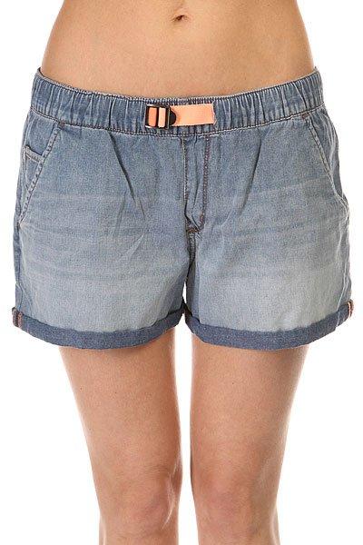 Шорты классические женские Roxy Fonxy Short Den Med Blue Wash
