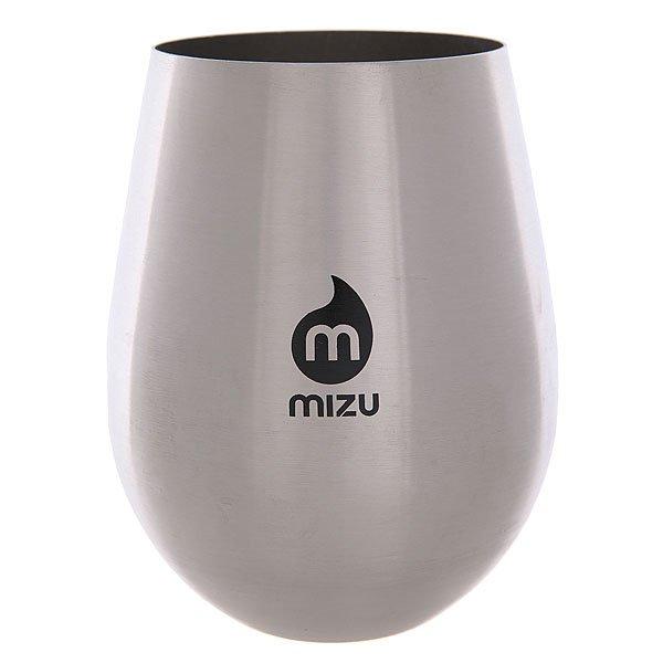 Стакан Mizu Wine Cup Set Stainless W Black PrintНабор бокалов для вина из нержавеющей стали.Технические характеристики: Материал - пищевая нержавеющая сталь 18/8.Объем - 500 мл.Не содержит бисфенола (BPA Free).Для охлажденных напитков.Лаконичный дизайн с логотипом Mizu.<br><br>Цвет: серый<br>Тип: Стакан<br>Возраст: Взрослый