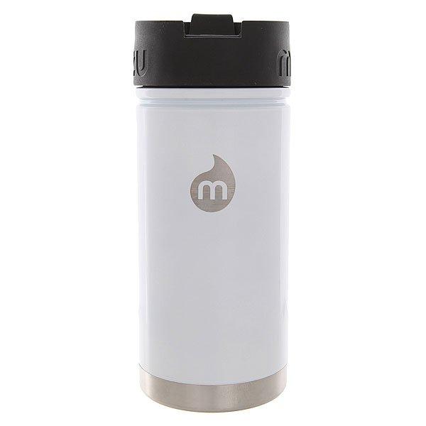 Термокружка Mizu V5 Glossy White Le Coffee LidУдобная термокружка для воды, чая или кофе с дозатором. Такую кружку можно взять как на работу, так и в путешествие.Технические характеристики: Материал - пищевая нержавеющая сталь 18/8.Объем - 500 мл.Не содержит бисфенола (BPA Free).Теплоизоляционная крышка с дозатором.Подходит для горячих и холодных напитков.Лаконичный дизайн с логотипом Mizu.<br><br>Цвет: белый<br>Тип: Термокружка