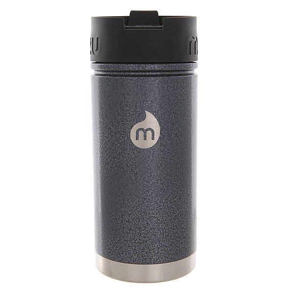 Термокружка Mizu V5 Grey Hammer Paint Coffee LidУдобная термокружка для воды, чая или кофе с дозатором. Такую кружку можно взять как на работу, так и в путешествие.Технические характеристики: Материал - пищевая нержавеющая сталь 18/8.Объем - 500 мл.Не содержит бисфенола (BPA Free).Теплоизоляционная крышка с дозатором.Подходит для горячих и холодных напитков.Лаконичный дизайн с логотипом Mizu.<br><br>Цвет: серый,черный<br>Тип: Термокружка