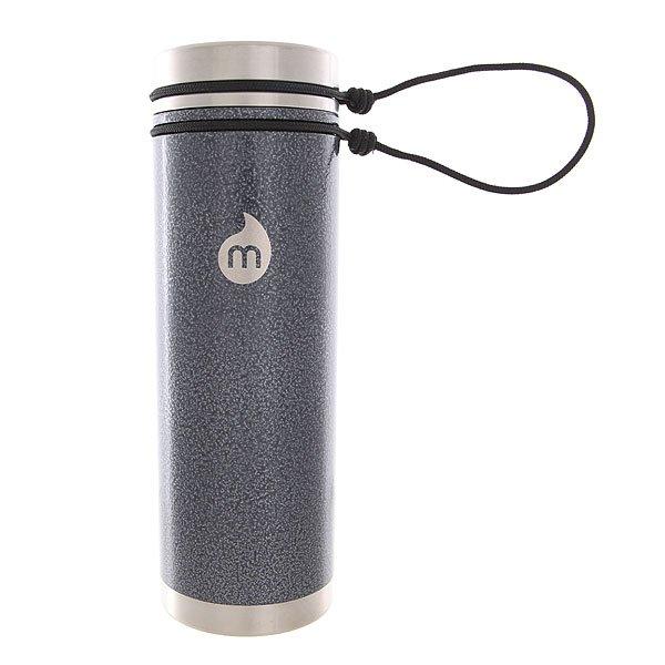 Термокружка Mizu V7 Gray Hammer Paingt Sst Lid N Rope LeashТермокружка с увеличенным объемом отлично подойдет для воды, чая или кофе, а практичная стальная крышка позволит взять кружку с собой на работу или в путешествие.Технические характеристики: Материал - пищевая нержавеющая сталь 18/8.Объем - 700 мл.Не содержит бисфенола (BPA Free).Теплоизоляционная стальная крышка на жгуте.Широкое горлышко.Вакуумная структура.Подходит для горячих или холодных напитков.Лаконичный дизайн с логотипом Mizu.<br><br>Цвет: черный,серый<br>Тип: Термокружка<br>Возраст: Взрослый