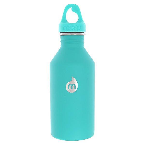 Бутылка для воды Mizu M6 St Mint Le W Mint Loop CapКомпактная бутылка для воды из нержавеющей стали с эргономичной крышкой.Технические характеристики: Материал - пищевая нержавеющая сталь 18/8.Объем - 600 мл.Не содержит бисфенола (BPA Free).Специальная форма горлышка для аккуратного налива.Эргономичная спортивная крышка.Только для холодных напитков.Яркий однотонный дизайн с логотипом Mizu.<br><br>Цвет: зеленый<br>Тип: Бутылка для воды