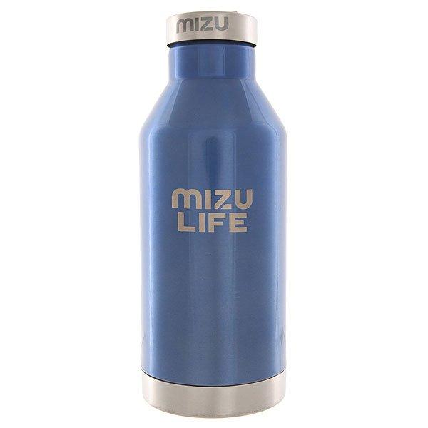 Бутылка для воды Mizu V6 Mizu Life Blue Steel Le Sst CapБутылка для воды из нержавеющей стали с плотной стальной крышкой сохранит напитки горячими или холодными до 18 часов, что очень удобно в морозы или в жару.Технические характеристики: Материал - пищевая нержавеющая сталь 18/8.Объем - 600 мл.Не содержит бисфенола (BPA Free).Крышка из нержавеющей стали с кольцом.Подходит для холодных и горячих напитков.Сохраняет температуру напитков в течение 12-18 часов.Яркий однотонный дизайн от Mizu.<br><br>Цвет: синий<br>Тип: Бутылка для воды