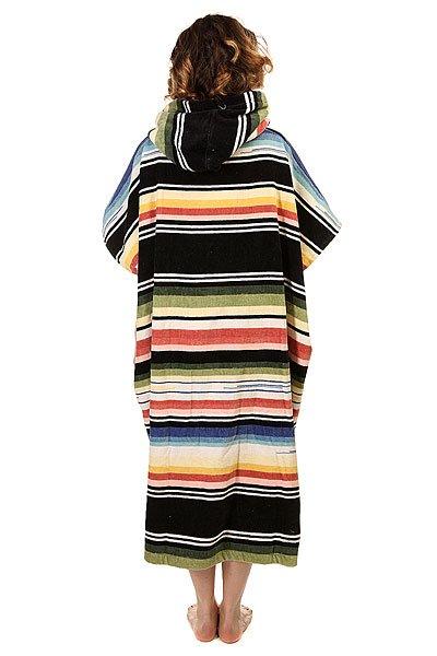 Пончо женское Billabong Salty Hoodie Towel Serape от Proskater