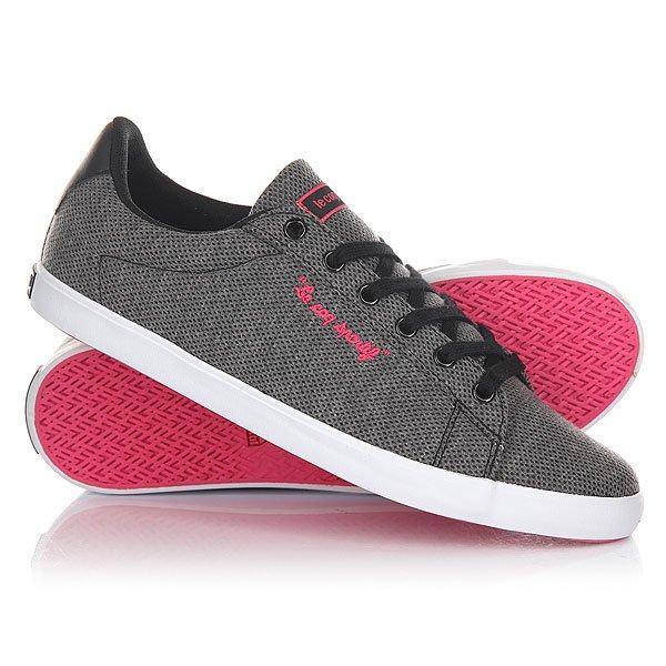 Кеды кроссовки низкие женские Le Coq Sportif Agate Lo Summer Jersey Black