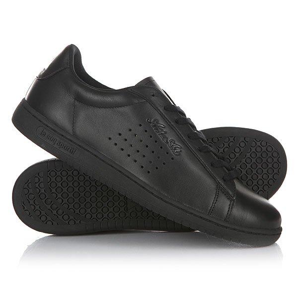 Кеды кроссовки низкие Le Coq Sportif Arthur Ashe Luxe Black кроссовки le coq sportif dynacomf text black