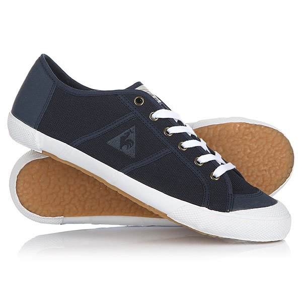 Кеды кроссовки низкие Le Coq Sportif Worker+ Cvs Dress Blue кеды кроссовки высокие le coq sportif portalet mid craft hvy cvs suede dress