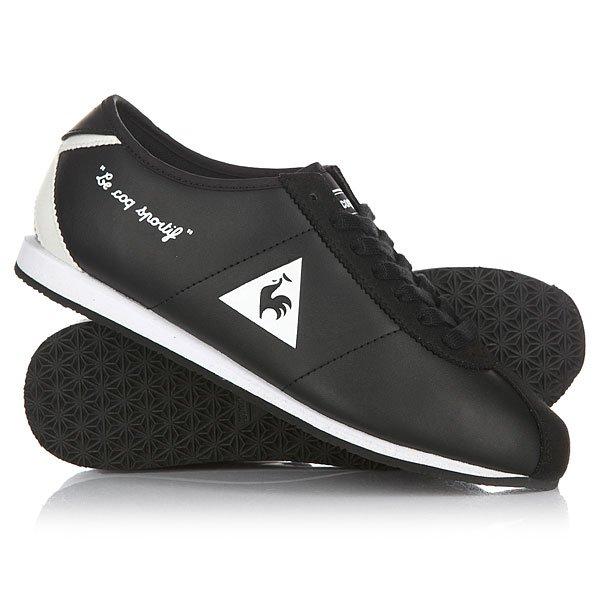 Кроссовки женские Le Coq Sportif Wendon W Lea / Suede Black/White кроссовки le coq sportif dynacomf text black