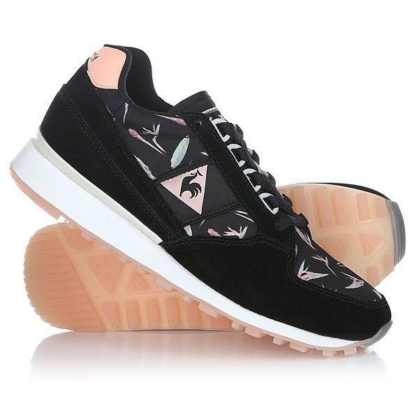 Кроссовки женские Le Coq Sportif Eclat Bird Of Paradise Black/Tropical декоративные накладки на замки для ford explorer 2010 2015