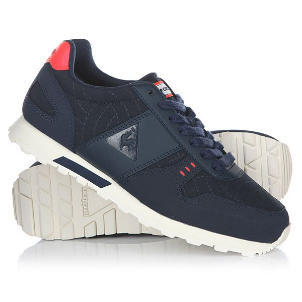 Кроссовки женские Le Coq Sportif Kl Runner 3d Nylon Dress Blue/Fiery Co