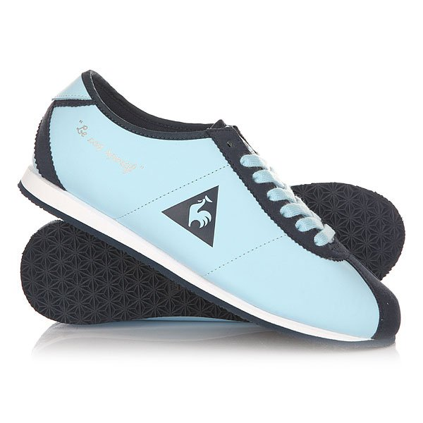Кроссовки женские Le Coq Sportif Wendon Lea / Suede Crystal Blue/Dress