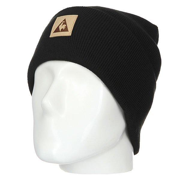 Шапка Le Coq Sportif Classique Beanie Black<br><br>Цвет: черный<br>Тип: Шапка<br>Возраст: Взрослый<br>Пол: Мужской