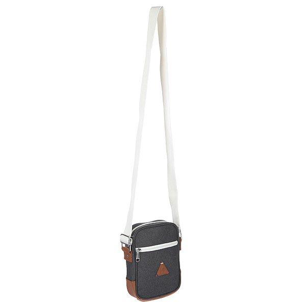 Сумка через плечо Le Coq Sportif Shoulder Pouch Bag Canvas TitaniКомпактная сумка на плечо выполненная в ретро стиле. Удобный фасон, отделка качественными материалами - сумка станет отличным аксессуаром на каждый день.Технические характеристики: Двухцветный деним и искусственная кожа.Задний накладной карман.Передний карман с контрастной молнией.Основное отделение на молнии.Регулируемый плечевой ремень.Кожаная нашивка с логотипом Le Coq Sportif.<br><br>Цвет: серый<br>Тип: Сумка через плечо<br>Возраст: Взрослый<br>Пол: Мужской