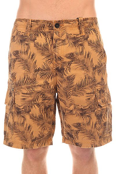 Шорты классические Billabong New Order Cargo Mustard billabong new order print 19 black