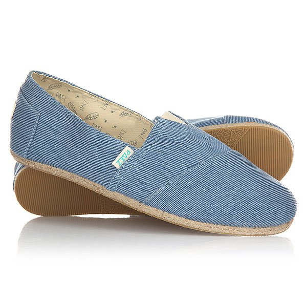 Эспадрильи Paez Original Raw Navy Essentials Sky Blue