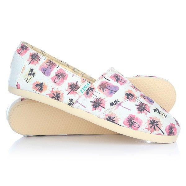 Эспадрильи женские Paez New Classic Eva Palmtree-0028Удобная и легкая обувь на лето от аргентинского производителя - Paez. Стильные и качественные эспадрильи, с ортопедической стелькой, будут уместны при любой обстановке и станут отличным дополнением к Вашему гардеробу. Такая обувь отлично подойдет и для городских прогулок и для похода на пляж. Эспадрильи очень быстро сохнут и устойчивы к загрязнениям, что делает их универсальной обувью для всех!Характеристики:Состав: 100% хлопчатобумажная ткань. Подошва: 100% эвапласт (неопрен). Стелька: 100% кожа, имеет ортопедический упор под свод стопы. Быстро высыхают от влаги. Устойчивы к загрязнениям. Удобно снимаются и одеваются: верх с вшитой резинкой. Прочная отделка и качественные материалы.Удобная ортопедическая стелька из кожи с супинатором для поддержания свода стопы. Перфорация кожаной стельки обеспечивает дополнительную вентиляцию для Ваших ног. Двойная строчка с использованием прочной капроновой нити.<br><br>Тип: Эспадрильи<br>Возраст: Взрослый<br>Пол: Женский