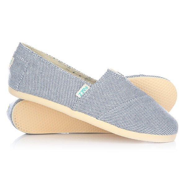 Эспадрильи женские Paez Original Panama Panama Azul-0052Удобная и легкая обувь на лето от аргентинского производителя - Paez. Стильные и качественные эспадрильи, с ортопедической стелькой, будут уместны при любой обстановке и станут отличным дополнением к Вашему гардеробу. Такая обувь отлично подойдет и для городских прогулок и для похода на пляж. Эспадрильи очень быстро сохнут и устойчивы к загрязнениям, что делает их универсальной обувью для всех!Характеристики:Состав: 100% хлопчатобумажная ткань. Подошва: 100% эвапласт (неопрен). Стелька: 100% кожа, имеет ортопедический упор под свод стопы. Быстро высыхают от влаги. Устойчивы к загрязнениям. Удобно снимаются и одеваются: верх с вшитой резинкой. Прочная отделка и качественные материалы.Удобная ортопедическая стелька из кожи с супинатором для поддержания свода стопы. Перфорация кожаной стельки обеспечивает дополнительную вентиляцию для Ваших ног. Двойная строчка с использованием прочной капроновой нити.<br><br>Тип: Эспадрильи<br>Возраст: Взрослый<br>Пол: Женский