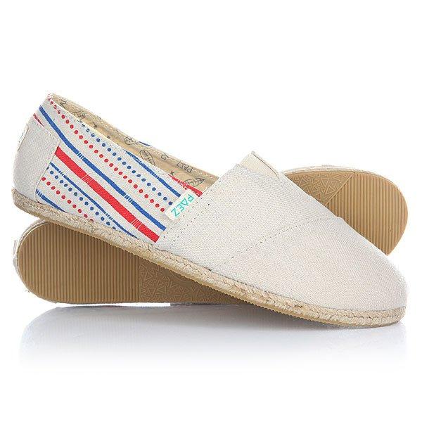Эспадрильи женские Paez New Classic Raw Classic-0051Удобная и легкая обувь на лето от аргентинского производителя - Paez. Стильные и качественные эспадрильи, с ортопедической стелькой, будут уместны при любой обстановке и станут отличным дополнением к Вашему гардеробу. Такая обувь отлично подойдет и для городских прогулок и для похода на пляж. Эспадрильи очень быстро сохнут и устойчивы к загрязнениям, что делает их универсальной обувью для всех!Характеристики:Быстро высыхают от влаги. Устойчивы к загрязнениям. Удобно снимаются и одеваются: вшитые резинки по бокам. Прочная отделка и качественные материалы.Удобная ортопедическая стелька из кожи с супинатором для поддержания свода стопы. Перфорация кожаной стельки обеспечивает дополнительную вентиляцию для Ваших ног. Двойная строчка с использованием прочной капроновой нити.Оплетка джутом.<br><br>Тип: Эспадрильи<br>Возраст: Взрослый<br>Пол: Женский