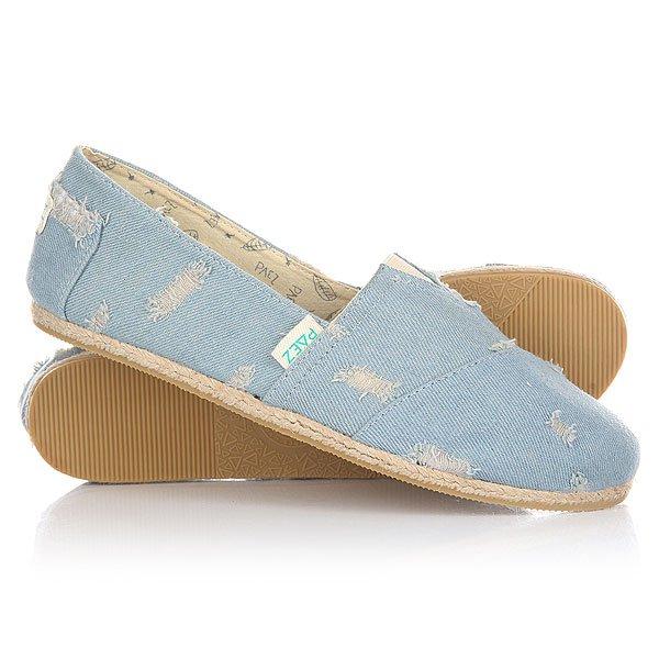 Эспадрильи женские Paez New Classic Raw Scratched Denim-0001Удобная и легкая обувь на лето от аргентинского производителя - Paez. Стильные и качественные эспадрильи, с ортопедической стелькой, будут уместны при любой обстановке и станут отличным дополнением к Вашему гардеробу. Такая обувь отлично подойдет и для городских прогулок и для похода на пляж. Эспадрильи очень быстро сохнут и устойчивы к загрязнениям, что делает их универсальной обувью для всех!Характеристики:Быстро высыхают от влаги. Устойчивы к загрязнениям. Удобно снимаются и одеваются: вшитые резинки по бокам. Прочная отделка и качественные материалы.Удобная ортопедическая стелька из кожи с супинатором для поддержания свода стопы. Перфорация кожаной стельки обеспечивает дополнительную вентиляцию для Ваших ног. Двойная строчка с использованием прочной капроновой нити.Оплетка джутом.<br><br>Тип: Эспадрильи<br>Возраст: Взрослый<br>Пол: Женский